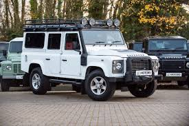 white land rover defender used cars thirsk second hand cars north yorkshire lr motors