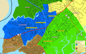 Charleston Sc Map Mount Pleasant Schools Map