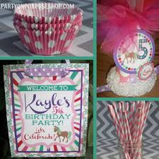 Horse Birthday Decorations Birthday Party Decor Packages Image Inspiration Of Cake And