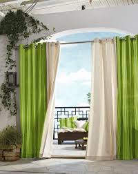 outdoor green curtains design privyhomes
