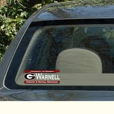 uga alumni car tag univ of ga g warnell forestry nat res dawgwear uga