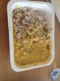 plat cuisiné picard poulet au curry et au lait de coco duo de riz formule express