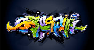 graffiti design graffiti design on wall vector free