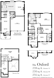 oxford 2738 sq ft centerville westin homes