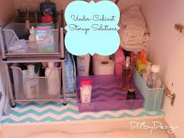 Under Sink Storage Ideas Bathroom by 217 Best Organize Under Sink Images On Pinterest Bathroom Ideas