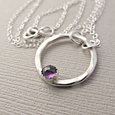 amethyst necklace silver images Amethyst necklace silver amethyst necklace february jpg