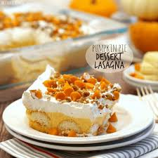 pumpkin pie dessert lasagna the cookie rookie