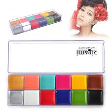 fashion 12in1 flash color case makeup palette for eyes cheeks lips