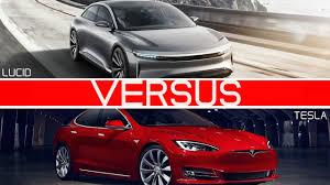 porsche tesla price tesla model s vs lucid air comparison of range performance and