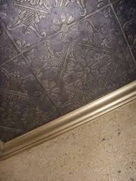 Ceiling Tile Painting Ideas by How To Install Faux Tin Ceiling Tiles Faux Tin Ceiling Tiles