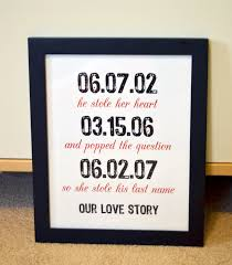 anniversary gifts for husband gift for husband 8x10 wedding gifts engagement party anniversary