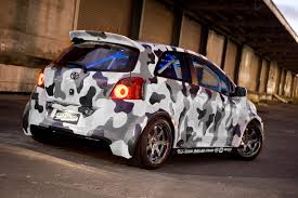 crazy concept racing yaris can this still be called a yaris lol