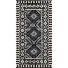 Grey And White Outdoor Rug Southwestern Outdoor Rugs You U0027ll Love Wayfair
