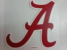 alabama alumni sticker wincraft alabama crimson tide 4 x 5 cut alumni decal ebay