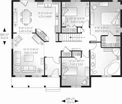 Best 25 One Floor House Floor Plan For One Story House Unique 58 1 Story House Plans With
