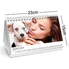 calendrier de bureau photo créez un calendrier de bureau personnalisé