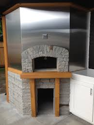 wood pizza oven kitchen outdoor wood pizza ovens pinterest
