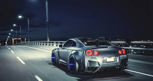 modified street cars liberty walk nissan gtr highly modified street racer 4k