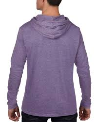 987 4 5 oz yd lightweight long sleeve hooded tee anvil