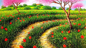 Fowers Forces Of Nature Art Splendor Spring Grass Nature Blossoms