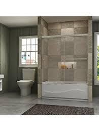 bathtub sliding doors amazon com