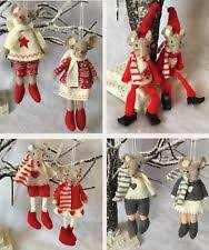 Christmas Mice Decorations Christmas Tree Mouse Ornaments Ebay