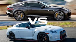 youtube lexus lfa vs nissan gtr jaguar f type r vs nissan gt r nismo youtube