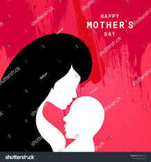 mothers day vector illustration mothers day stock vector 626877614