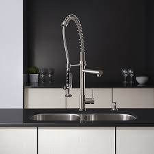 kraus kpf 1602ss single handle pull down kitchen faucet commercial