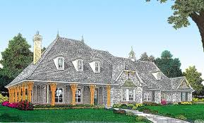 european home plan with wraparound porch 48427fm architectural