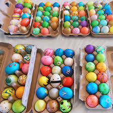 egg decorating supplies my shepard s pie colorful easter egg party