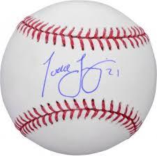 Johnny Bench Autograph Cincinnati Reds Signed Baseballs Autographed Mlb Baseballs