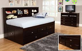 discovery world furniture espresso twin captain day beds kfs stores