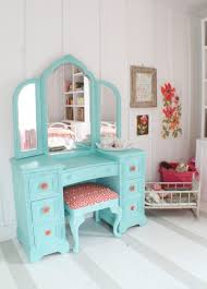 Decorating Ideas For Girls Bedroom by Cute Dressing Table Redo For A Little Or Teen Cottage