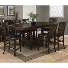 High Dining Room Table Set by Jofran Mirandela Birch Counter Height Dining Table Set Jofran
