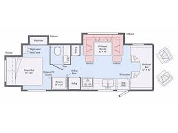 Winnebago Class C Motorhomes Floor Plans by 2018 Winnebago Minnie Winnie 26a Summerfield Fl Rvtrader Com