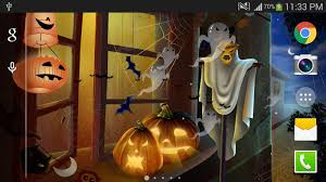 cartoon halloween background halloween live wallpaper hd android apps on google play