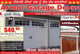 Overhead Door Coupon by Garage Door Repair Surrey Bc Choice Image French Door Garage