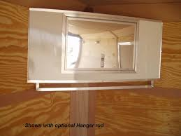 V Nose Enclosed Trailer Cabinets by R And P Carriages Enclosed Trailer Cabinet Options