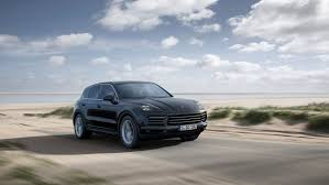 suv porsche porsche reveals new cayenne suv with fat rear tyres