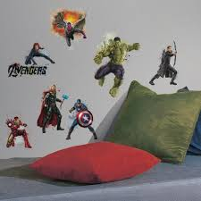 roommates avengers age ultron peel and stick avengers age ultron peel and stick wall