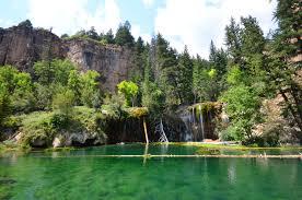 colorado lakes images Hiking to hanging lake colorado jpg