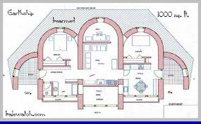 straw bale house plan 990 sq ft straw bale