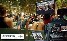 rent lcd projector u0026 movie screen in chicago il outdoor movie