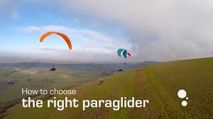 how to choose the right paraglider flybubble blog