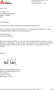 Certification Letter Sle Product Certification Letter Sle 28 Images Letter Sle