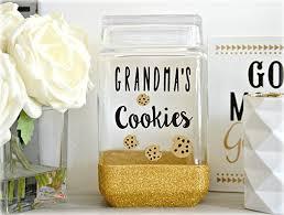 personalized cookie jars cookie jar cookie jar glitter cookie jar