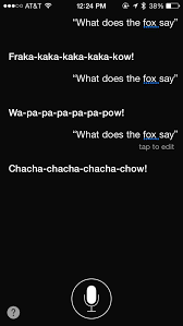 What Did The Fox Say Meme - ask siri what does the fox say and you won t be disappointed