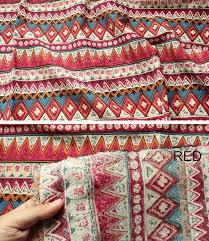 Cotton Linen Upholstery Fabric African Stripe Cotton Linen Fabric Bohemian Fabric Upholstery