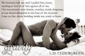 Husband Romance In Bedroom Blog Tour U0026 Giveaway Gravity By L D Cedergreen Bridger